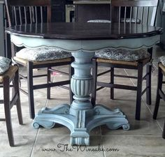 1000+ ideas about Dining Table Makeover on Pinterest | White ...