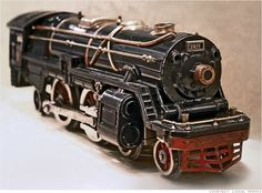 CNN Money article on Lionel Trains 100th birthday.  http://money.cnn.com/gallery/smallbusiness/2013/10/21/lionel-trains/index.html