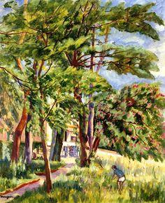 La Reinerie, Vallée du Chevreuse Henri Manguin -...