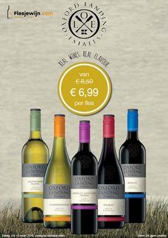 Oxford Landing Estates Serie is nu in de aanbieding tm 13-03-16. Heerlijke wijnen! http://www.flesjewijn.com/oxford+landing+estates