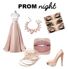 """Prom night 😘"" by abby-gains on Polyvore featuring Charlotte Russe, Thalia Sodi and Red Camel"