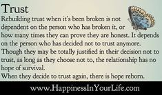 Here's how to rebuild trust in a relationship, particularly in marriage. Description from nl.pinterest.com. I searched for this on bing.com/images