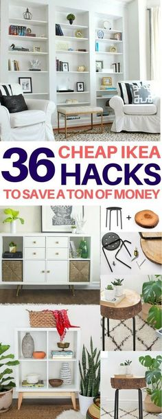 BRILLIANT Ikea hacks you have to see to believe! Cheap & easy ikea hacks diy home decor diy room decor living room ideas bedroom ideas kitchen ideas - March 02 2019 at Diy Home Decor Rustic, Easy Home Decor, Cheap Home Decor, Diy Room Decor, Home Decor Hacks, Room Decorations, Cheap Wall Decor, Aquarium Decorations, Modern Decor