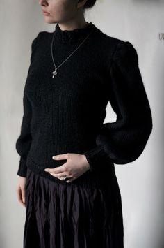 "Свитер ""Викториа""/ Sweater ""Victoria"" via simplehard. Click on the image to see more! #knit #knitting"