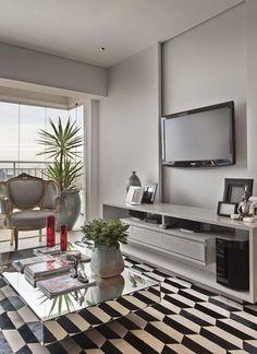 Decoração apartamento masculino com estilo clássico