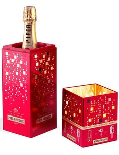 Champagne Piper-Heidsieck: cooler and candle holder