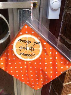 Orange You Glad? Volunteer Gifts