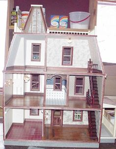 This is the interior of our Westdale (affordable series) dollhouse that we completed for our customer
