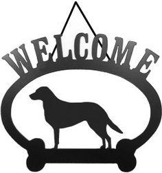 Sweeney Ridge Chesapeake Bay Retriever Welcome Sign