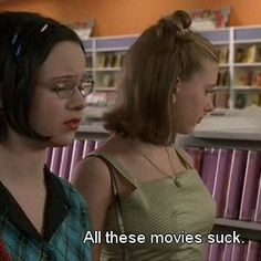 """Ghost World"" (2001) Directed by Terry Zwigoff. With Steve Buscemi, Thora Birch, Scarlett Johansson & Brad Renfro"