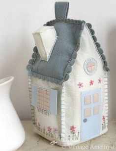 Cute felty house