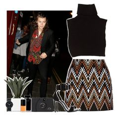 """""""Night out w/ my bae .x"""" by martii-alcaraz-14 ❤ liked on Polyvore featuring DKNY, Yves Saint Laurent, Marc Jacobs, Narciso Rodriguez, Uniform Wares and Nordstrom"""