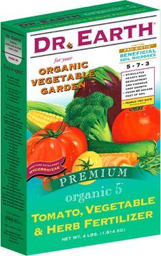 Vegetable Garden Fertilizer by Dr Earth (4lb) | Planet Natural