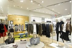 Holt Renfrew store lighting by Suzanne Powadiuk Design in partnership with Salex, Toronto — Canada other lighting fashion department store