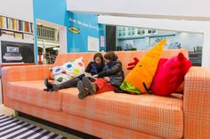 Swedish furniture giant IKEAcreated an apartment installation with larger-than-life furniture in Hall 2 of the Gare de Lyon in Paris.