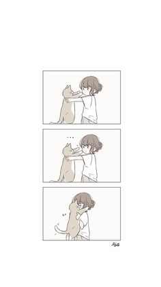 Kawaii Wallpaper, Cat Wallpaper, Cute Wallpaper Backgrounds, Aesthetic Anime, Aesthetic Art, Tmblr Girl, Manga Kawaii, Kawaii Art, Photo Images