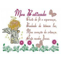 Bordado Frase Batizado 04