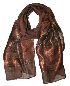 Ladies Scarf Brown