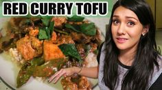 ABUSIVE RED CURRY TOFU!!! (Vegan Friendly) - #TastyTuesday