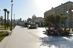 Boulevard en Bakú #baku #azerbaiyan #asia #tourism #culture #travel #takemysecrets