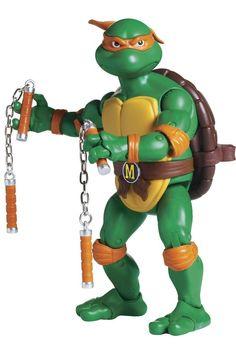 Teenage Mutant Ninja Turtles McDonald's Happy Meal Toy Michelangelo Figure NIP