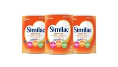 Similac Sensitive Infant Formula with Iron For Fussiness and Gas One Month's Supply Baby Formula Powder lb (Pack of Frustration-Free Packaging gms Baby Food Recipes, Gourmet Recipes, Lactose Sensitivity, Amazon Subscribe And Save, Gassy Baby, Making Hard Boiled Eggs, Soy Protein Isolate, Organic Formula, O Gas