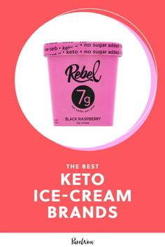 Yep, keto-friendly ice cream is a thing, and there is a whole host of brands to choose from in the freezer aisle. Here, 5 keto ice-cream brands try. #keto #icecream #brands Keto Ice Cream Brand, Keto Friendly Ice Cream, Ice Cream Brands, Peanut Butter Fudge, Butter Pecan, Clean Eating Desserts, Healthy Desserts, Healthy Eating, Ice Cream Nutrition