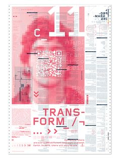 Transform by Fred Carriedo, via Behance