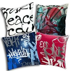Graffiti Pillow On the Fly