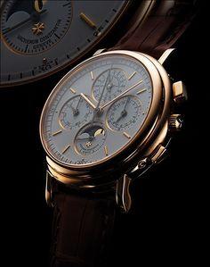 """Vacheron Constantin - A Vacheron Constantin """"Perpetual Calendar Chronograph"""" I…"""