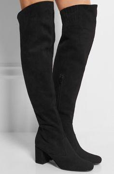 Saint Laurent's over-the-knee boots