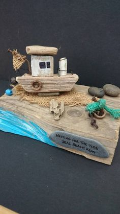 Check out this item in my Etsy shop https://www.etsy.com/uk/listing/471565194/driftwood-boat-sculpture-kent-coast