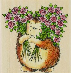 See Sweet Hedgehog by Penny Black on Addicted to Rubber Stamps!