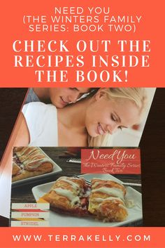Author Terra Kelly's steamy epicurean romance also has recipes available in the back of the book. You will find unique bbq recipes, pizza, and homemade desserts.