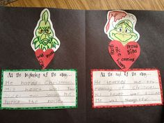 Compare and Contrast A whole week's worth of grinch-related activities- multiple subjects