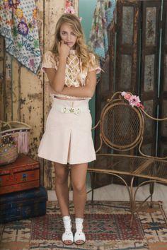 Lookbook Summer of Love Highly Preppy SS16 // Jersey corto glitter