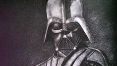 Unusual Art: Darth Vader Portrait Created With Salt Salt Art, Unusual Art, Darth Vader, Portrait, Dark Side, Starwars, Random, Sweet, Print Layout
