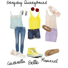 """""""Summer Princesses"""" by totallytrue on Polyvore"""