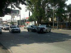 Choque en Agustin Yañez y Francisco de Quevedo  16/05/2012