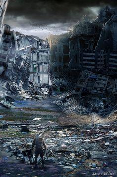 Post-Apocalyptic Concept Art | post apocalyptic concept by jamesdesign1 digital art photomanipulation ...