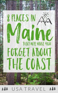 Looking for the best things to do in Maine? If youre craving a quiet, off-the-beaten-path adventure, check out this local's guide for 8 of the best places to visit in central and western Maine! New England travel Maine Road Trip, Camping In Maine, East Coast Road Trip, Us Road Trip, Road Trip Hacks, New England States, New England Travel, Cheap Places To Travel, Cool Places To Visit
