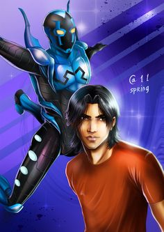 Blue Beetle ~Autumn-Sacura | Young Justice's newest character of importance, starting in season 2