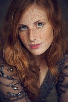 Redhead and freckles!