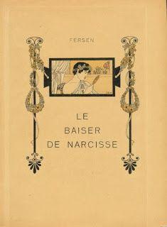 "Fersen fumando opio; ca. 1904; ""Assiette au Beurre""."