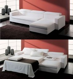 Space-Saving, Compact, Convertible, Multi-Purpose Furniture | Sofa Bed designs for Inspiration