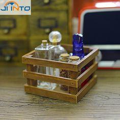 1085 руб Zakka старинные деревянные ящики для хранения бункеры контейнер древесины чехол для стол организатор пенал канцелярские метизы купить на AliExpress