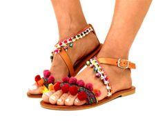 Greek Sandals Earth Colors shoesIbiza Party