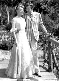 Robert Walker and Dorothy Patrick