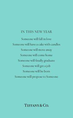 tiffany's new year.