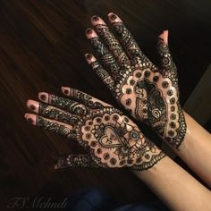 Floral patterns with hidden peacock and heart Peacock Mehndi Designs, Floral Patterns, Hand Henna, Hand Tattoos, Design Inspiration, Heart, Floral Prints, Flower Prints, Layout Inspiration